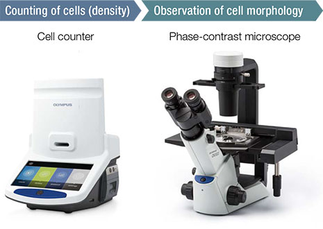 Cell counter, Phase-contrast microscope