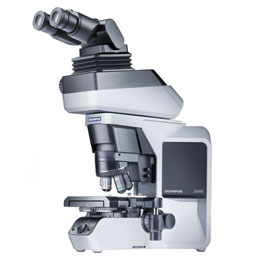 Olympus' fully ergonomic BX46 upright microscope