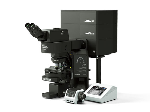 Upright microscope (configured for slide imaging)