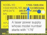 Multi Argon Laser Label