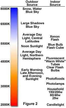 the physics of light and color color temperature