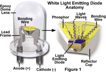 sources of visible light introduction to light emitting diodes rh olympus lifescience com Liquid Crystal Display Light-Emitting Diode Symbol