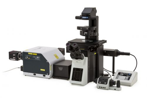 Super resolution confocal microscope and real-time controller